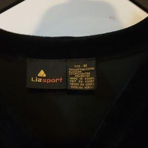 Liz Claiborne Pants - VINTAGE Velour Jumpsuit